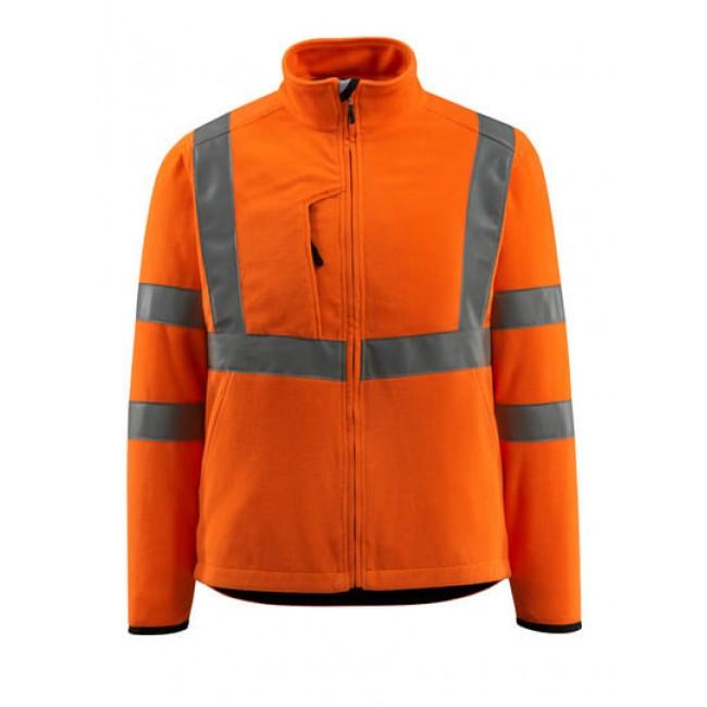 Fleece Jacket hi-vis orange