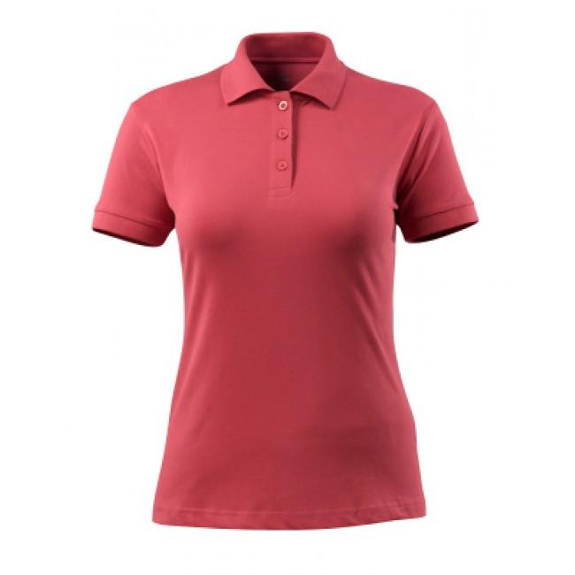Polo shirt raspberry red