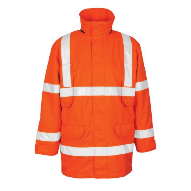 Parka Jacket hi-vis orange
