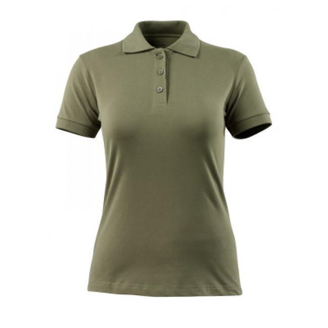 Polo shirt moss green