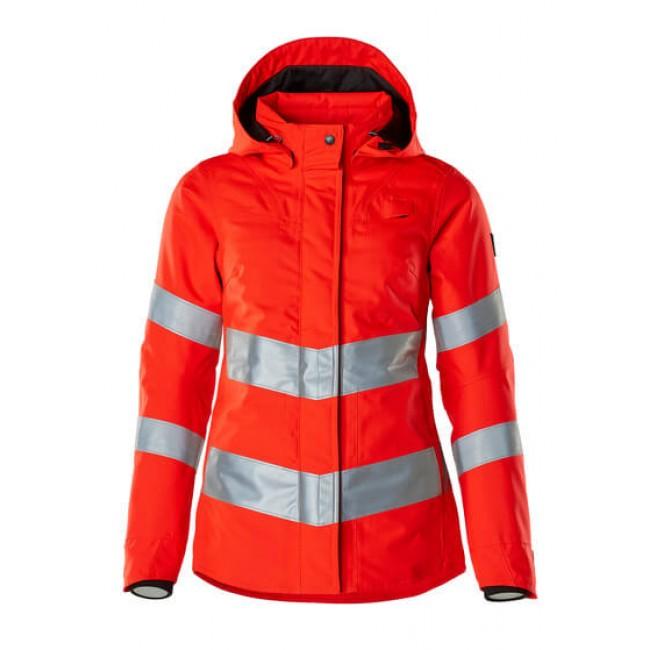 Winter Jacket hi-vis red