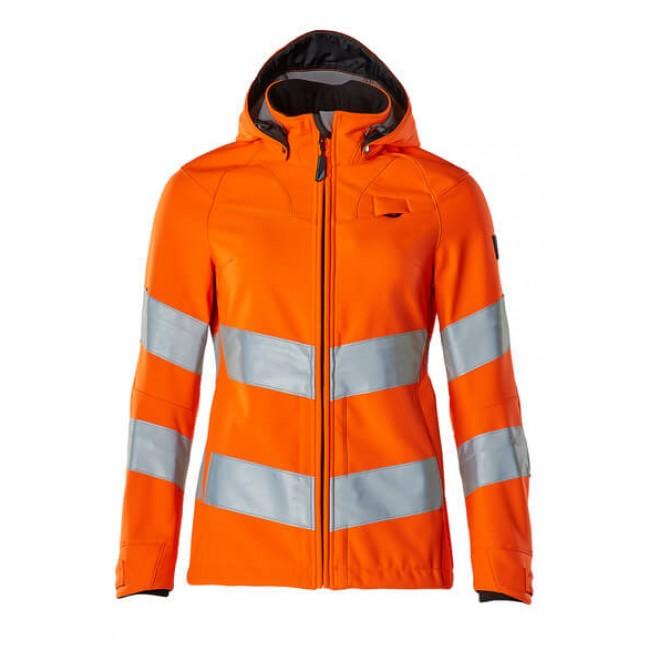 Softshell Jacket hi-vis orange